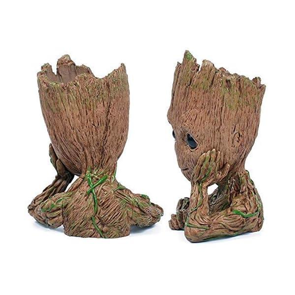 Tpk Baby Groot Blumentopf Figur Ubertopf Gross Aquarium Deko Figur Holz Aschenbecher Stiftehalter Innen Ichwilldas Shop