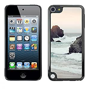 Plastic Shell Protective Case Cover    Apple iPod Touch 5    Sand Waves Sky Nature Sun @XPTECH