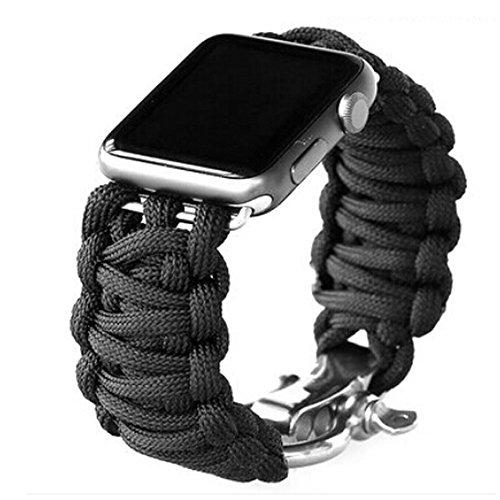 TitanFan Apple Paracord Survival Bracelet product image