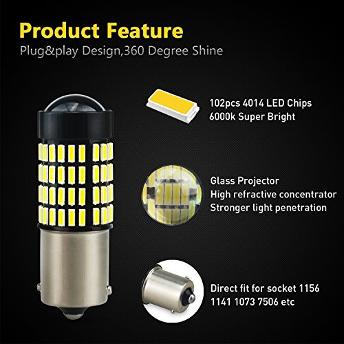 3157-Reverse-Light-BulbsAUXITO-1400-Lumens-Super-Bright-Wedge-4014-102-SMD-LED-Chipsets-3056-3156-3057-4157-LED-Bulbs-with-Projector-for-Backup-Reverse-Lights6000K-Xenon-White