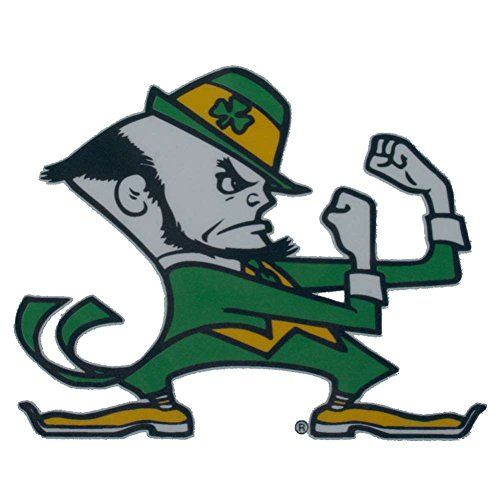 Notre Dame Fighting Irish Die-Cut Transfer Decal - Mascot Fighting Irish Mascot