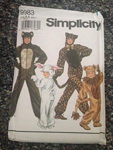 Simpl (Rabbit Costume Pattern)