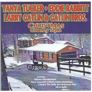 - Country Christmas Cd 1. Winter Wonderland - Tanya Tucker 2. The Christmas Song - Glen Campbell 3. Silent Night - Cristy Lane 4. Silver Bells - Larry Gatlin & the Gatlin Brothers 5. Away in a Manager - Lacy J. Dalton 6. Have Yourself a Merry Little Christmas - Eddie Rabbitt 7. I Heard the Bells on Christmas Day - Suzy Bogguss 8. White Christmas - Merle Haggard 9. Star of Bethlehem - Wild Rose 10. Thank God for Kids - Eddy Raven