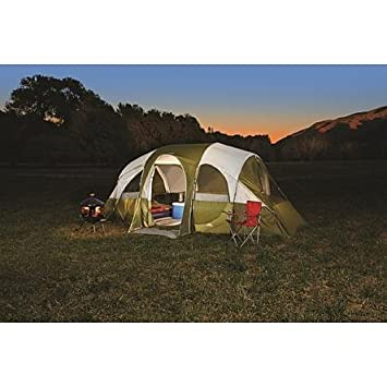 Northwest Territory Eagle River 18 x 10 , 8 Person Tent with Quick Camp Insta-Frame