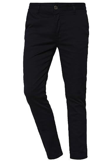 Pier One Pantalones de Hombre en Negro - talla 30: Amazon.es: Ropa ...