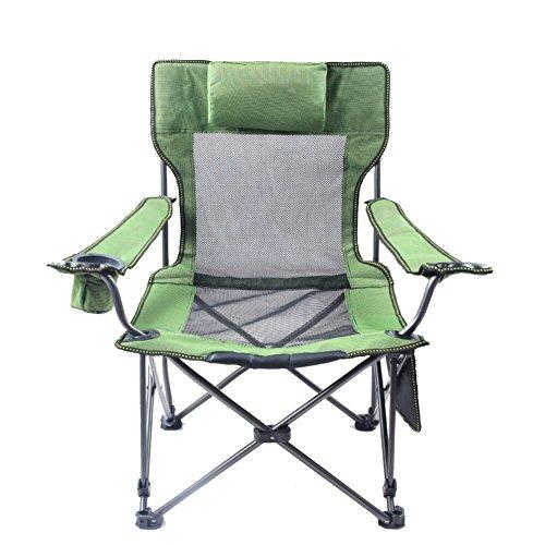LE Chaise Pliante Dextrieur Camping Confortable Portable Hauteur Variable
