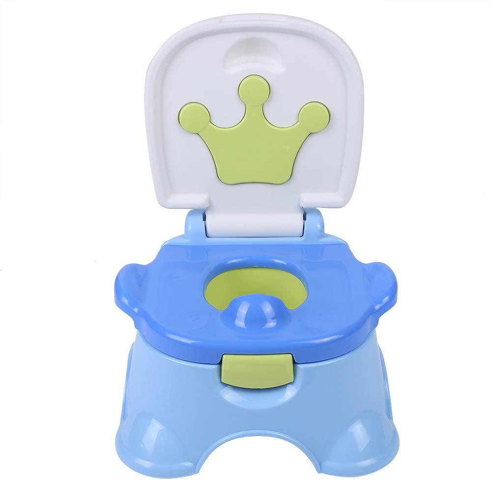 3-in-1 tragbarer rutschfester /Übungs-WC-Sitz f/ür Kinder//Tritthocker//Kinderstuhl