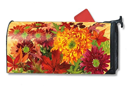 MailWraps Autumn Bouquet Mailbox Cover 01036