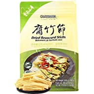 ONTRUE Dried Beancurd Sticks, Asian Tofu, Good Source Of Protein, Non-GMO, Vegan, Great Gourmet Gift, 9.88 Oz