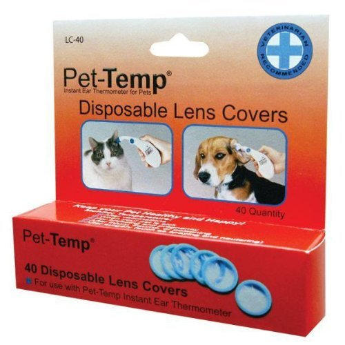 Replacement Lens Covers 40 Pet-Temp Ear Thermometer by Advanced Monitors