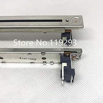 Isali New Japan ALPS Faders LS9 M7CL NC Potenciómetro de 14,4 cm B10K T tipo mango mezclador eléctrico Fader-5PCS/LOT: Amazon.es: Juguetes y juegos