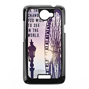 HTC One X Cell Phone Case Black Be The Change JNR2200736