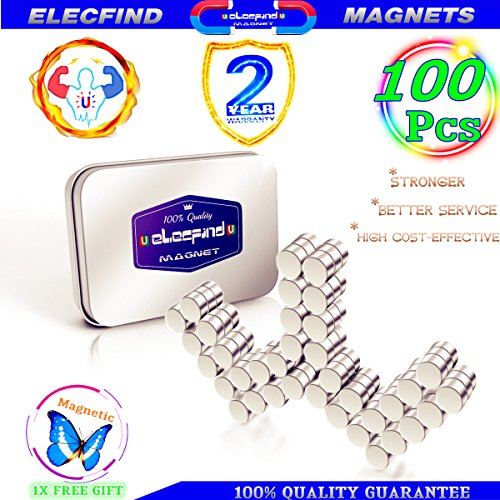 Super Magnets Magnetic aa (6X3MM)