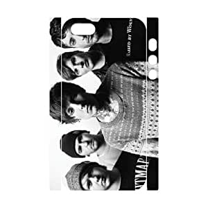 3D IPhone 5,5S Case a Day to Remember Five Boys Protective Cute for Girls, Iphone 5s Case Cheap Protective Cute for Girls [White]