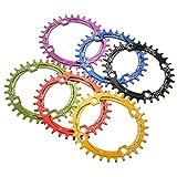 SNAIL 32T Oval Ddisc Chainring Bicycle Crankset 104MM Chainwheel Bike Single-too ( Black )