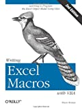 Writing Excel Macros with VBA, Roman, Steven, 0596003595