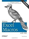 Writing Excel Macros with VBA, Roman, Steven, 0596003595