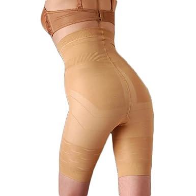 8550901fb7ec2 ValentinA Womens Shapewear Cool Comfort High- Waist Thigh Slimmer Hot  Comfortable Body Shaper at Amazon Women s Clothing store