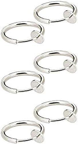 Amazon Com Pesly 3 Pair Retractable Earrings No Need Piercing