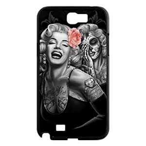 Zombie Marilyn Monroe Personalized Cover Case for Samsung Galaxy Note 2 N7100,customized phone case QUEER691864