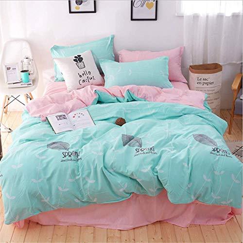 SSHHJ Bedding Sets Duvet Cover Set Pillow Cases Home Textiles Adult Bedclothes G 230x230cm -