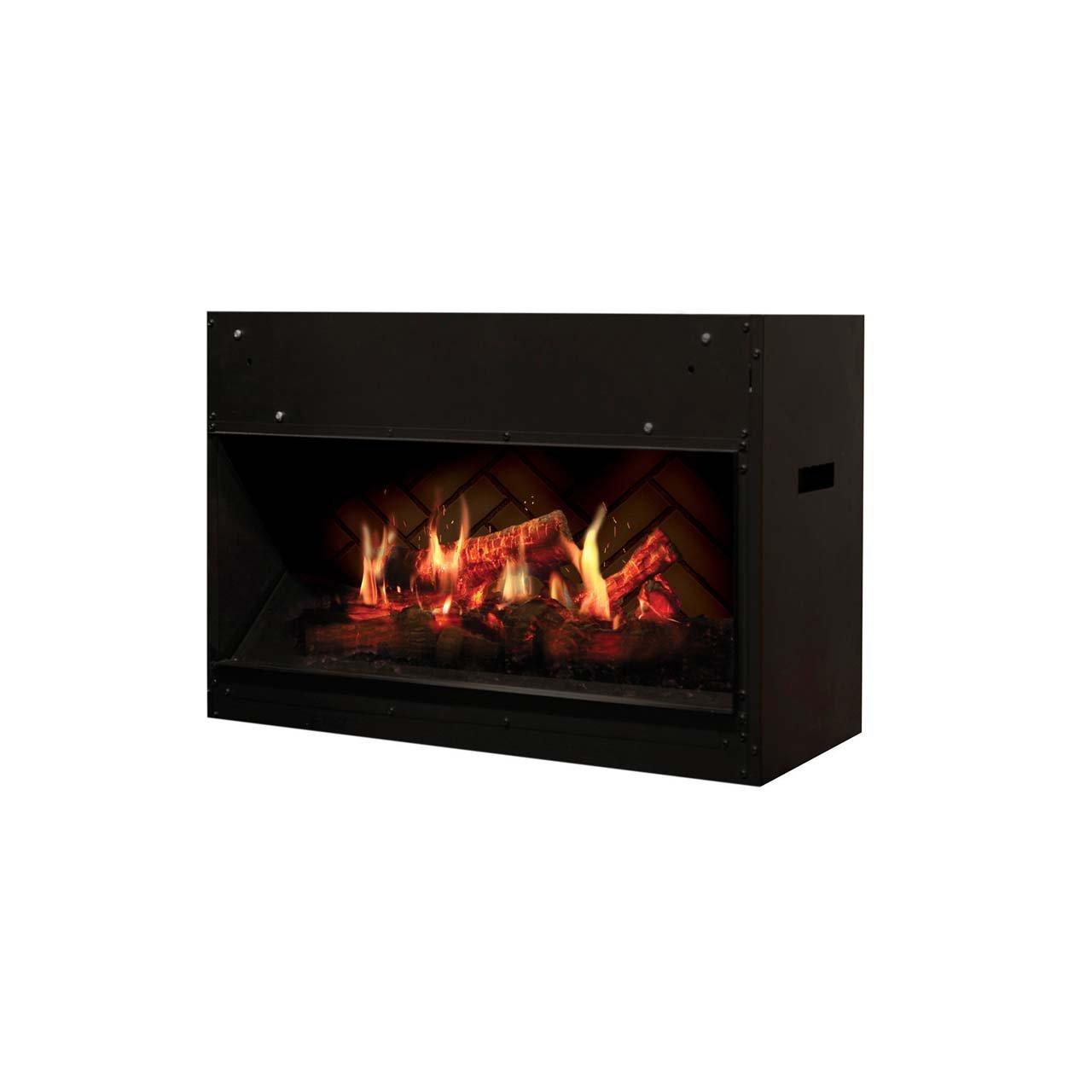 dimplex vf2927l opti v solo fireplace black amazon com