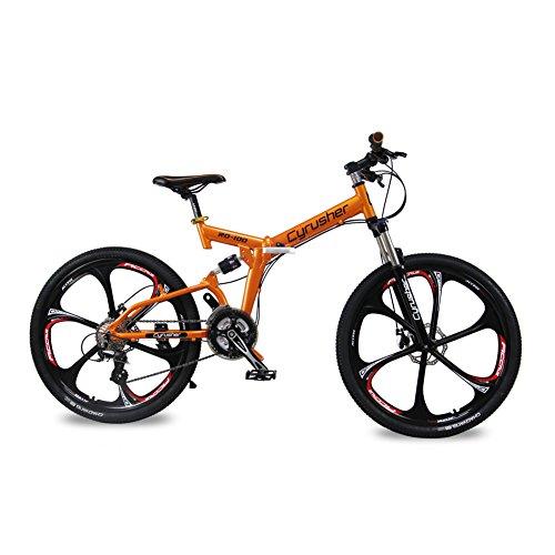 RD100 Cyrusher Full Suspension Frame Mountain Bike for Man Shimano Aults M310 24 Speeds Disc Brake