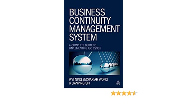 Amazon Com Business Continuity Management System A Complete Guide