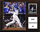"MLB Kansas City Royals Mike Moustakas Player Plaque, 12""x15"""