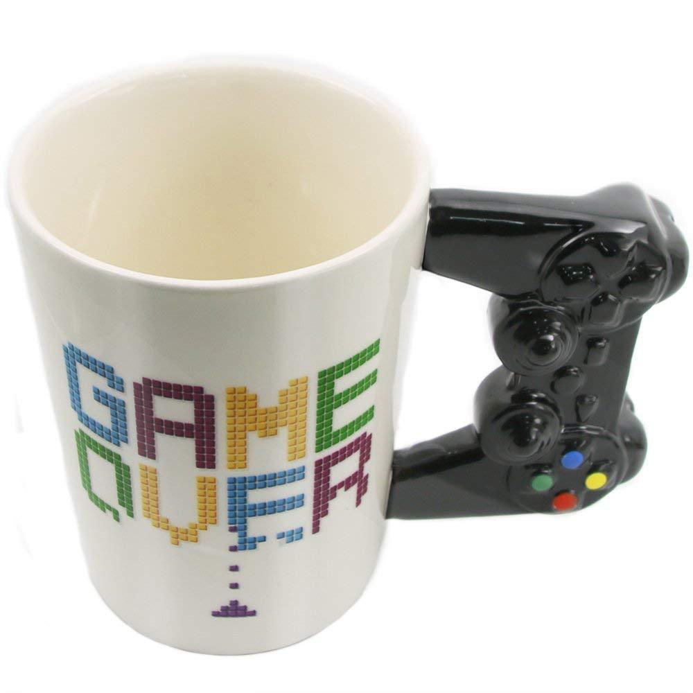 PUCKATOR Game Over Game Controller Taza en Forma de manija ...