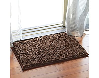 Chezmax Chenille Specific Color Non-slip Indoor Outdoor Hello Doormat Large Small Inside Outside Front Door Mat Carpet Floor Rug