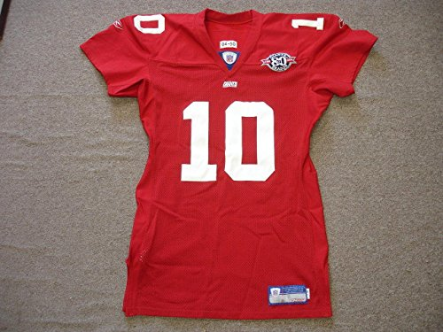 Eli Manning Signed Jersey - 2004 NY Game Ready Mears A5 LOA - Autographed NFL ()