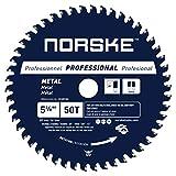Norske Tools NCSBP208 5-3/8' x 50T Metal Cutting Saw Blade