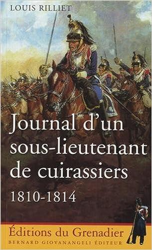 Téléchargement Journal d'un sous-lieutenant de cuirassiers : 1810-1814 epub, pdf