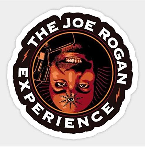 Joe Rogan Experience Decal Sticker Podcast American Comedian 4 Inch Bumper Sticker (Best Joe Rogan Podcasts)