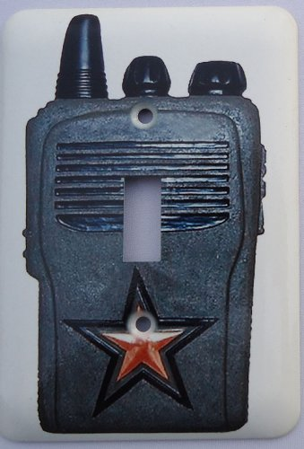 CAMO Military SOLDIER walkie talkie switch plate -