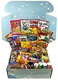 japanese box - Sakura Box - Dagashi Set - Large 50 Pieces Japanese Candy Chocolate Snacks (Large)