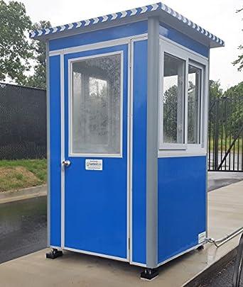 Prefabricados 4 x 4 caseta de guardia de seguridad/cabina de billete/