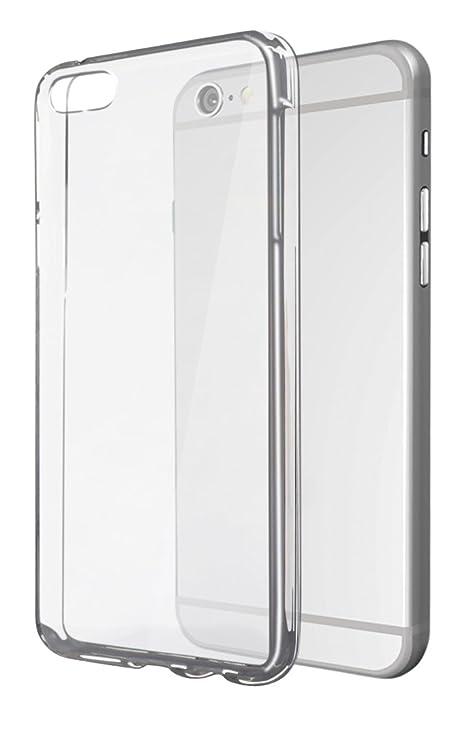 Ksix B0925FTU00 - Carcasa para Apple iPhone 6, Transparente ...