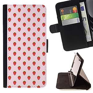 Momo Phone Case / Flip Funda de Cuero Case Cover - Wallpaper Pattern - Sony Xperia M4 Aqua