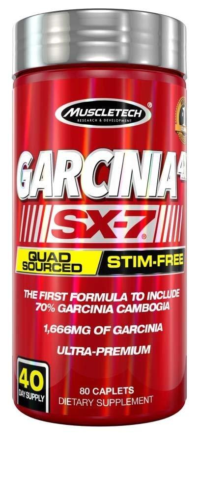 Muscletech Garcinia 4X Sx-7 80ct US, 80 Count by MuscleTech