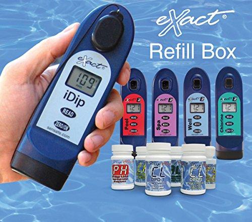 eXact 486214 Process Water Reagent Refill Box: Amazon.com: Industrial & Scientific