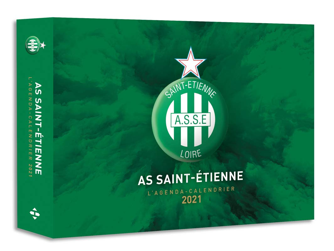 Amazon.fr   L'Agenda calendrier AS Saint Etienne 2021   Collectif