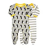 Toby Tiger Penguin Footies 2 Pack 0-3m 56cm