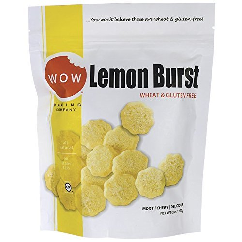 WOW Baking Company Gluten Free Cookies - Lemon Burst - 8 Ounces by WOW Baking Company (Cookies Wow Lemon)