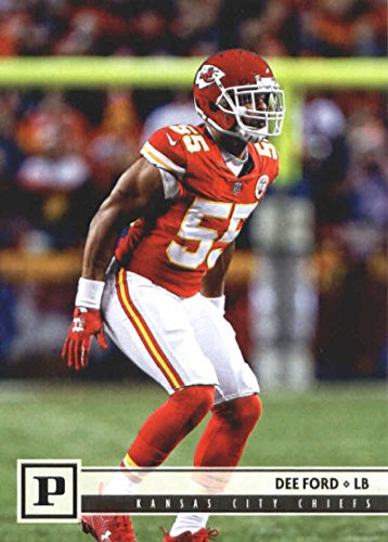 2018 Panini NFL Football #150 Dee Ford Kansas City Chiefs Official Trading Card