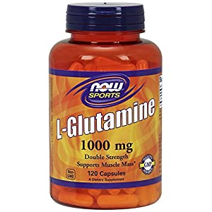 L glutamine 120 Caps 1000 Mg By Now Foods