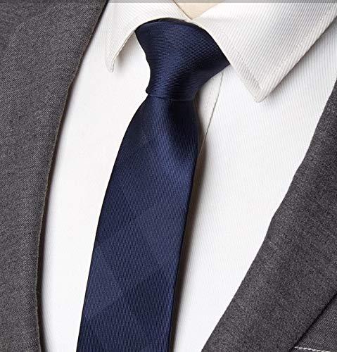 Graven Men Striped tie 7cm Business Skinny Ties Mens Fashion Corbatas Gravata Jacquard Bowtie Wedding Dress Shirt Accessories neckties - (Color: F701)