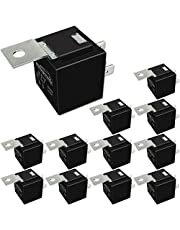 IRHAPSODY 40/30 AMP 5 Pin SPDT 12 V DC Bosch Style Automotive Relay Switch - 25 PACK, No Relay Socket and Wiring Harness