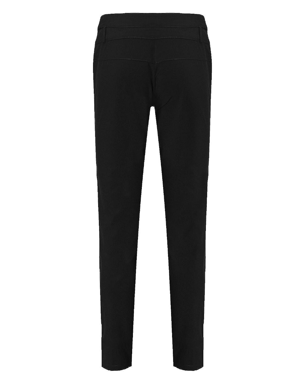 StyleDome Vaqueros Mujer Pantalon Pantalones Largos Botones Oficina